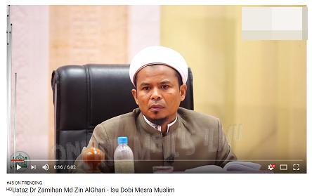 KDN akan siasat Dr Zamihan berkaitan video tular isu Dobi Muslim sahaja