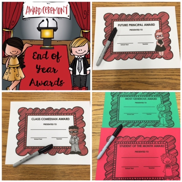 End of School Year Awards - Kids' Choice Awards