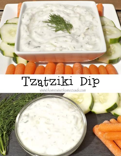 Tzatziki Dip - Home Sweet Homestead