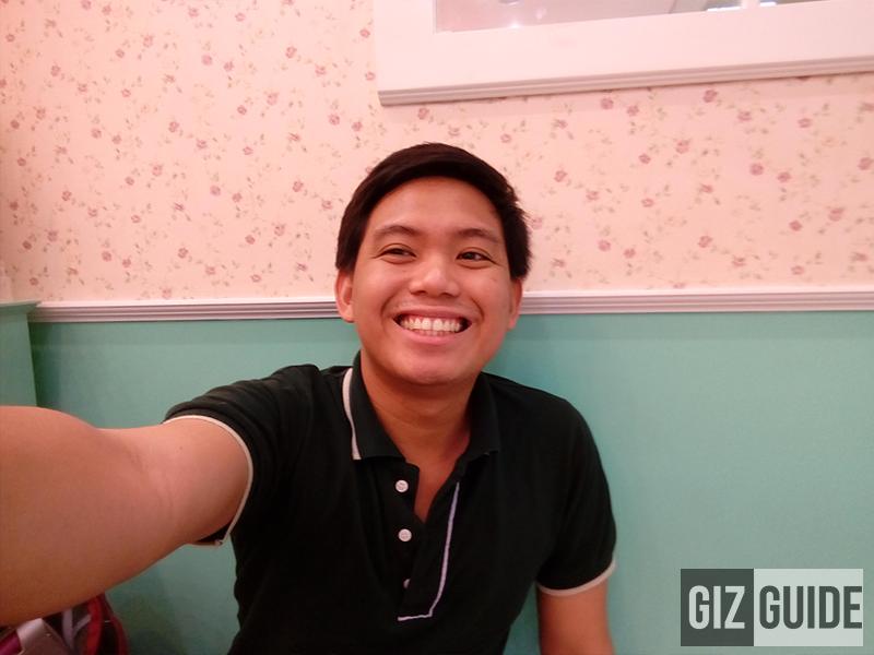 Selfie camera test