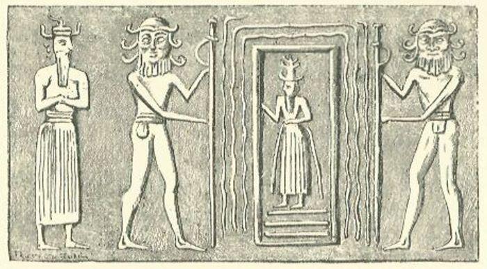 Annunaki sumerian stargate in iraq