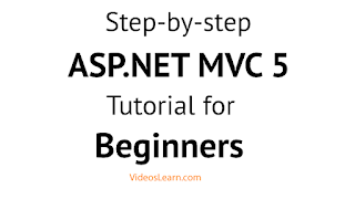 Step-by-step ASP.NET MVC Tutorial for Beginners