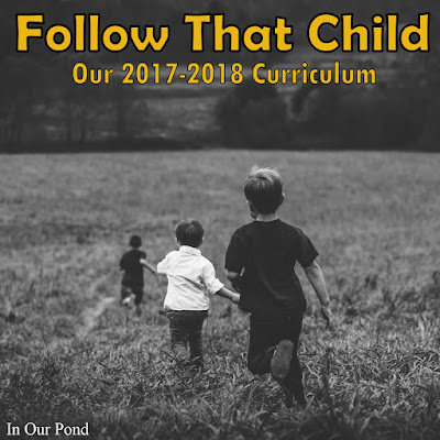 Follow That Child- Our 2018-2019 Homeschool Curriculum In Our Pond