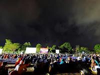 Bersama Masyarakat, Divif 2 Kostrad Gelar Nobar Film G30S/PKI