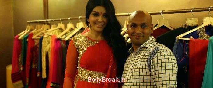 Koena Mitra, Gagan Kumar, Koena Mitra Hot HD Images At KCouture Fashion Store Launch