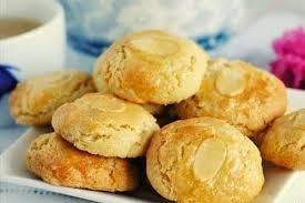 Resep Kue Kering Almond Cookies 1