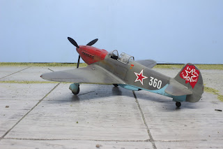 Yak 3 d'Eduard au 1/48.