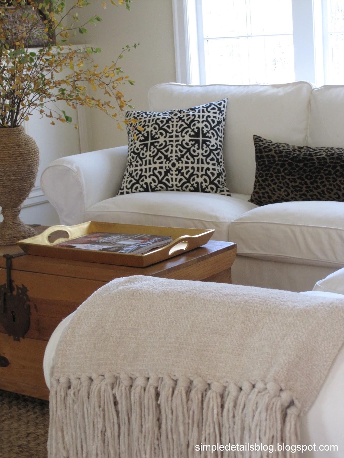 simple details ikea ektorp sectional. Black Bedroom Furniture Sets. Home Design Ideas
