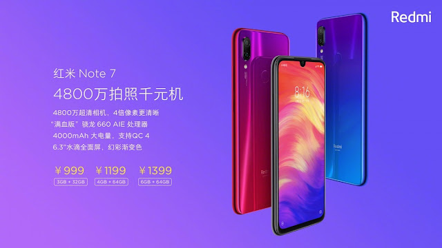 redmi note 7 and redmi note 7 pro