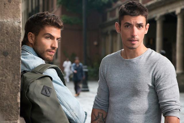 Maxi Iglesias (Ovni) y Alberto Guerra (Canek) participan en Ingobernable de Netflix