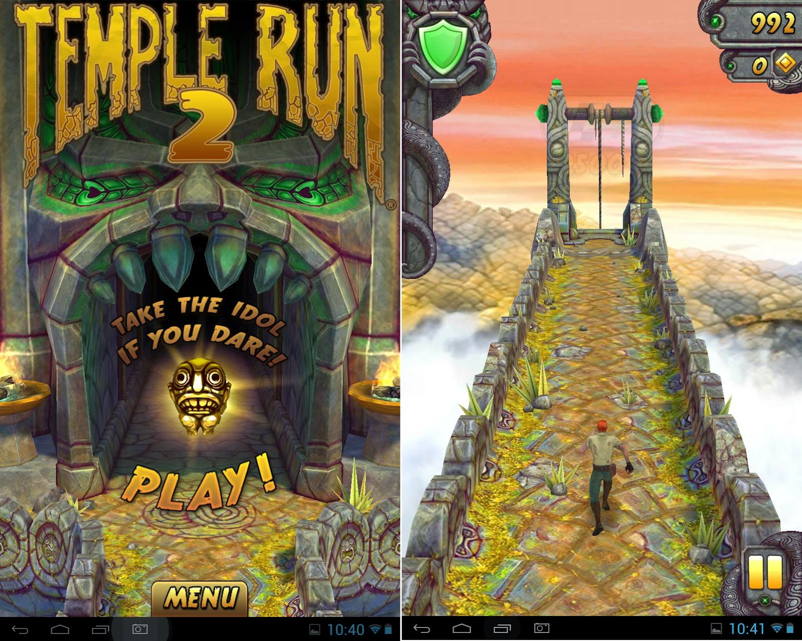 Qube PhoneTab Review: Double The Fun Temple Run 2