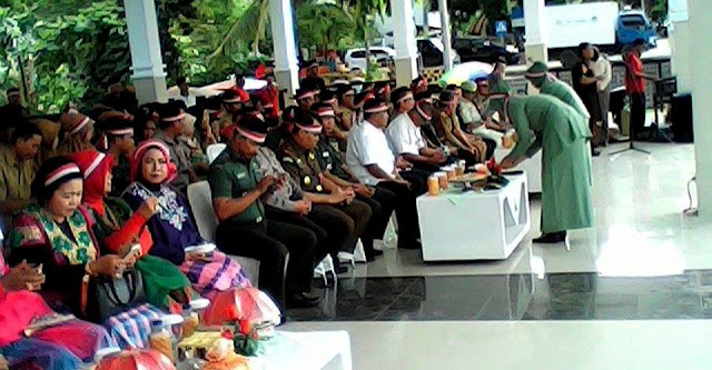 Apel Nusantara Bersatu, Wabup Wajo Bacakan Sambutan Panglima