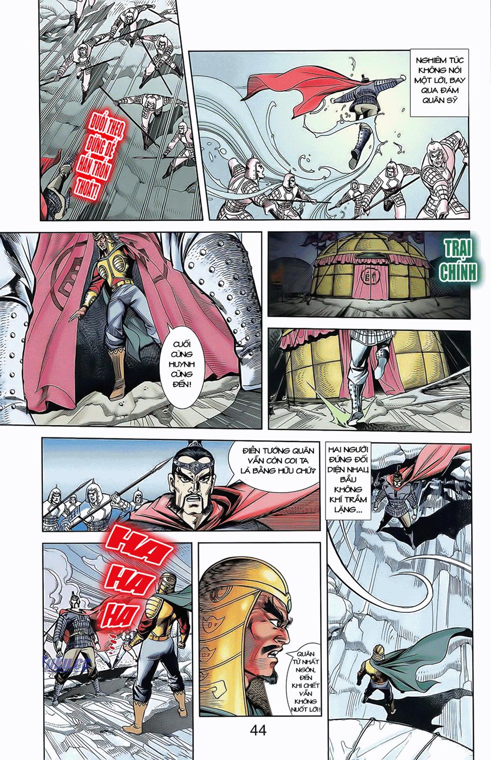 Tần Vương Doanh Chính chapter 10 trang 16