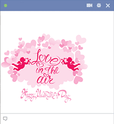 Love in the Air Sticker