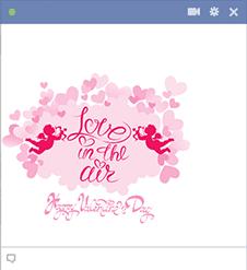 Love in the Air Sticker