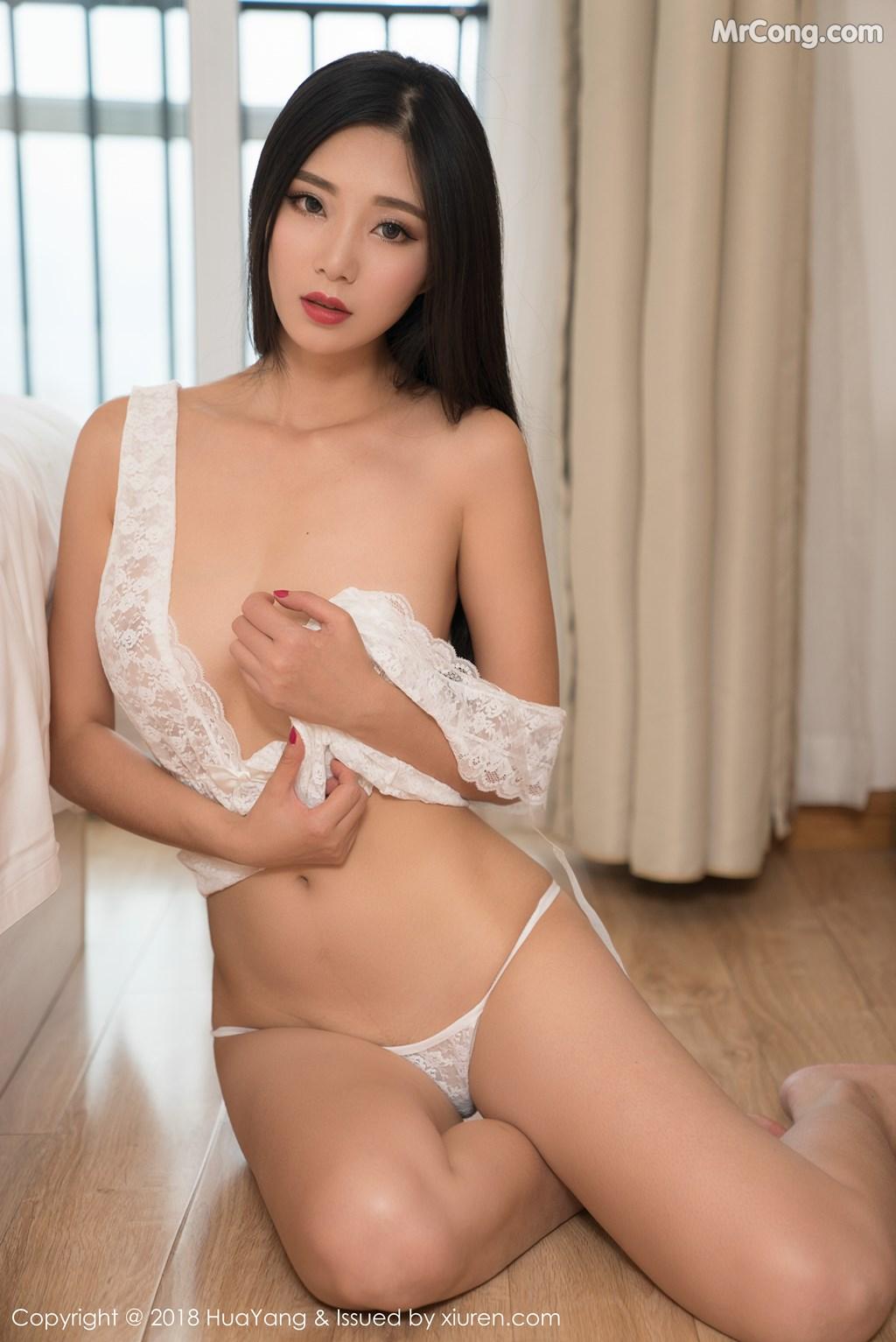 Image HuaYang-2018-02-28-Vol.033-KiKi-MrCong.com-024 in post HuaYang 2018-02-28 Vol.033: Người mẫu 宋-KiKi (42 ảnh)