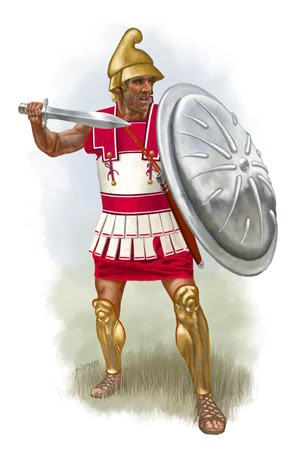 Macedonia Documents: Ancient Warriors - Illustrations
