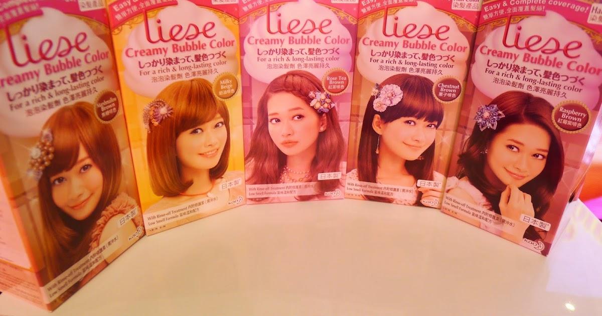 Liese Creamy Bubble Hair Color Japans No1 Hair Color