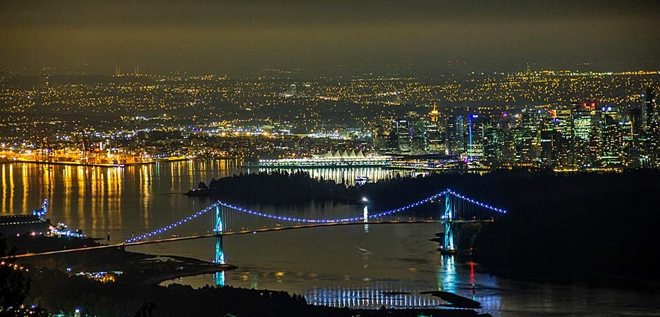 Vancouver by Night | Vancouver la nuit
