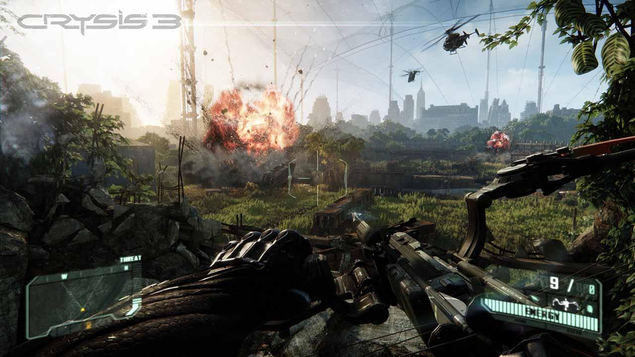 تحميل لعبة Crysis 3 برابط مباشر + تورنت
