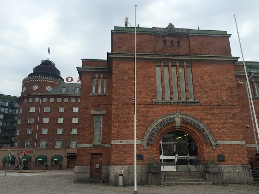 ハカニエミ マーケット広場(Hakaniemen Kauppahalli)