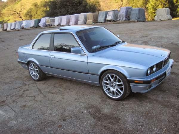 Daily Turismo: 5k: Cool Blue: 1991 BMW 325i