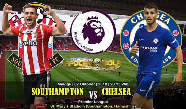Prediksi Southampton VS Chelsea 7 Oktober 2018