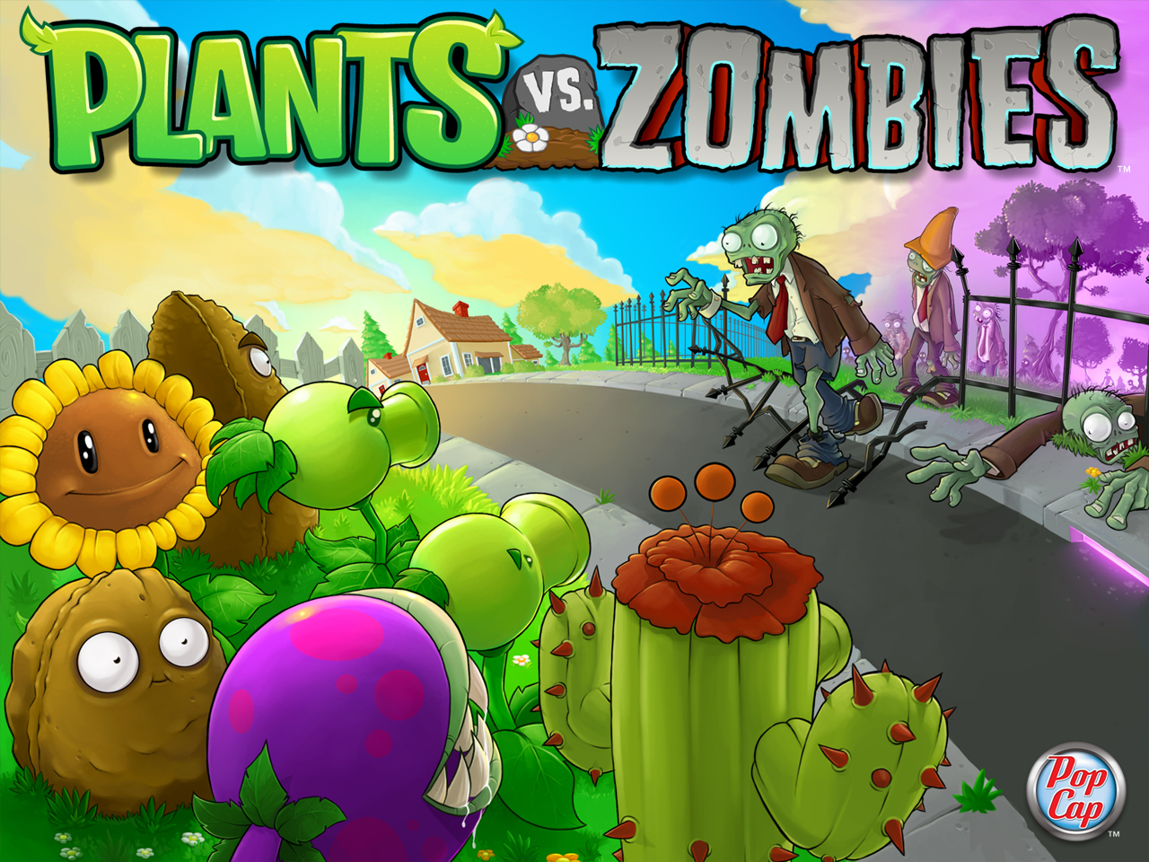 Plants vs. Zombies Adventures also has a town-building mechanic that