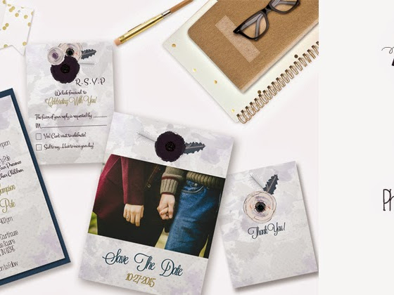 Free Digital Download -- Lilly Water Color Wedding Suite