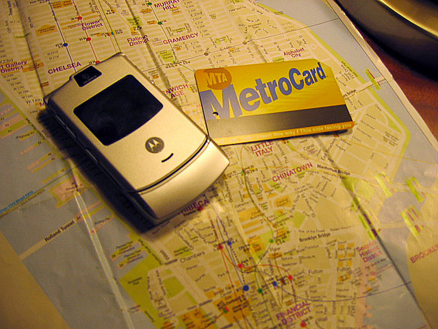 New York metro card