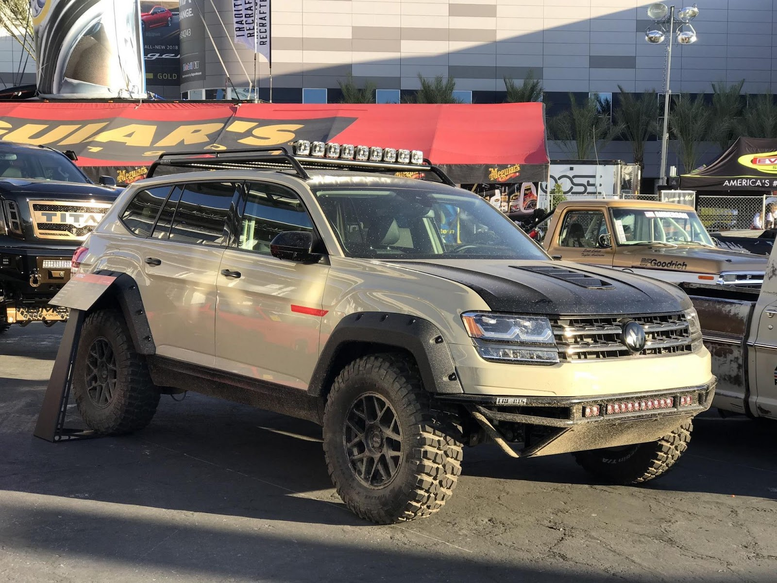 LGE CTS VW Atlas Ready For Rally Thanks To Tanner Foust | Carscoops