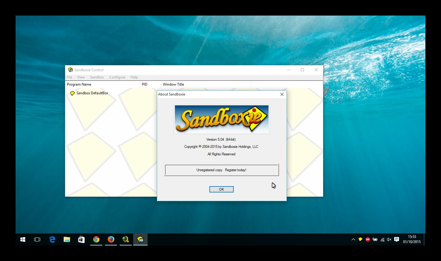 descargar sandboxie 64 bits full