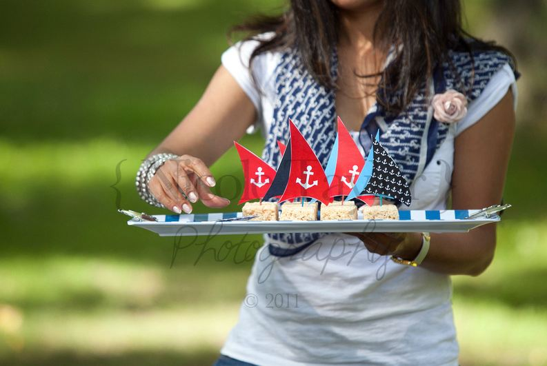 A Summer Nautical Birthday Party - BirdsParty.com