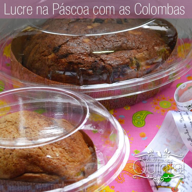 Faça e Venda Colomba de Páscoa com sugestão de embalagem na Cozinha do Quintal & Galvanotek