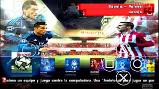 PES 2016-17 LEAGUE MX BY JOSE PSP Android