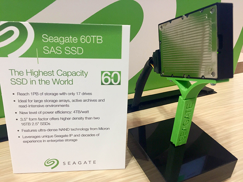 Converge! Network Digest: Seagate Demos 60TB SSD