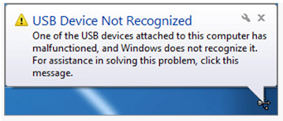How To Resolve USB Device Not Recognized in Windows Issues
