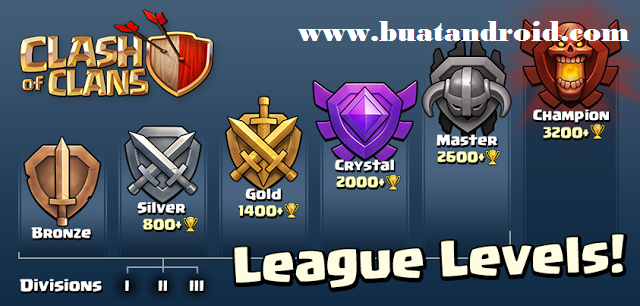 Cara Naik Trophy Master League Town Hall 7 Clash of Clans