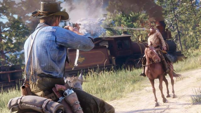 إشاعة: شاهد بالصور تسريب لعبة Red Dead Redemption 2 في بعض المتاجر في السعودية ..