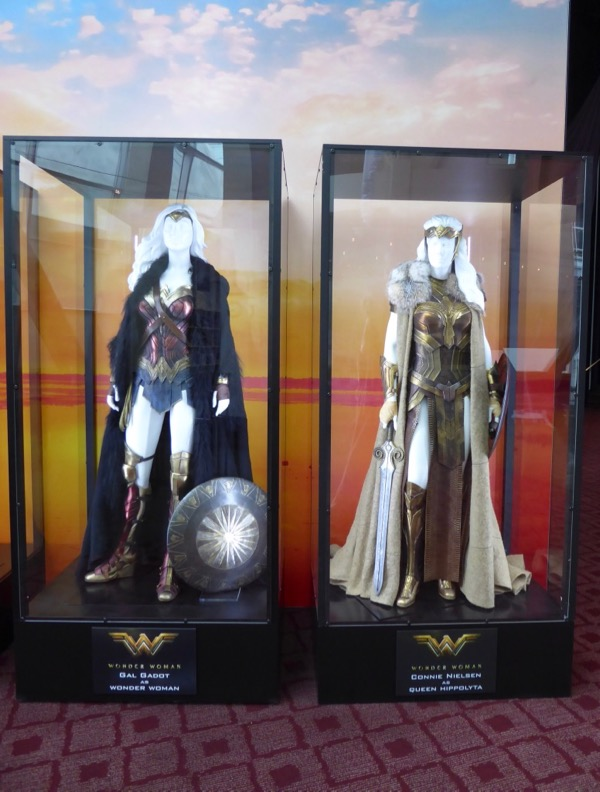 Wonder Woman and Queen Hippolyta film costumes