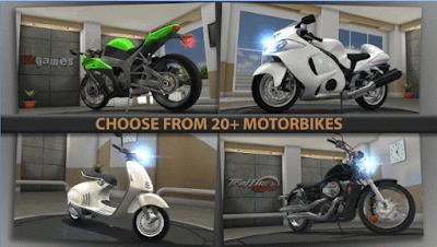 Download Game Traffic Rider Mod v1.4 Apk Mega Mod Terbaru 2017