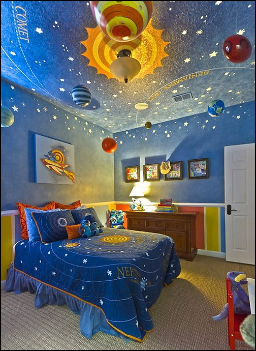 NASA Themed Bedrooms - Pics about space