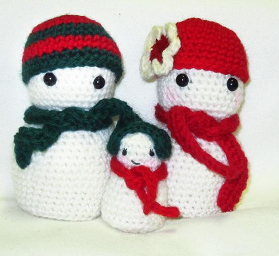 Free Pattern Crochet Amigurumi 10 Crochet Amigurumi Snowman Free ... | 504x550