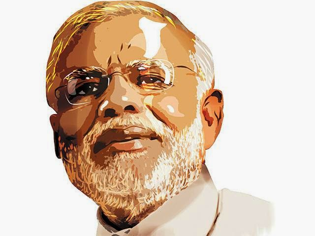 Narendra+Modi+Caricature+Painting+2014+Download+Free