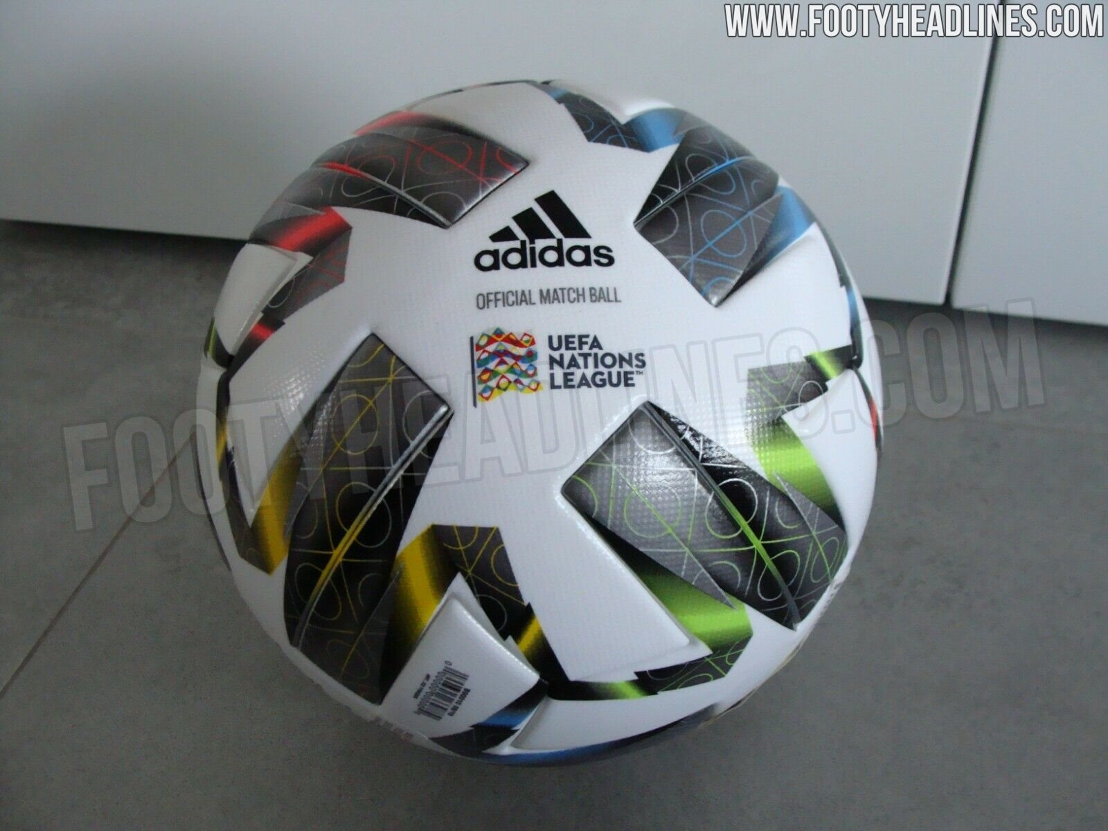 Adidas UEFA Nations League 2020-2021 Ball Leaked - Footy ...