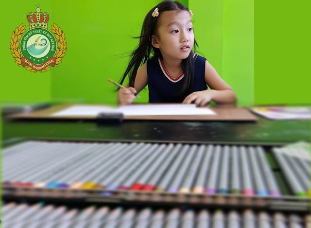 Khóa học vẽ cho thiếu nhi tại quận Bình Thạnh TP HCM