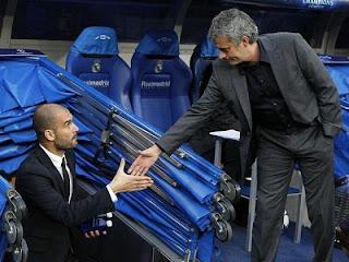 guardiola+mourinho