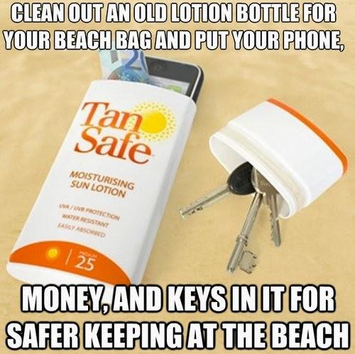 """""""Reciclar envase para guardar tu celular y las llaves"""""""
