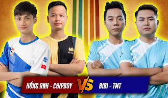 Hồng Anh - Chipboy vs BiBi - TMT | 2vs2 Random | 22/05/2021