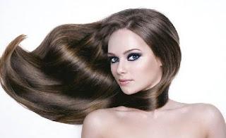 Cara Membuat Rambut Berkilau